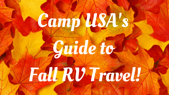 's Guide to Fall RV Travel!